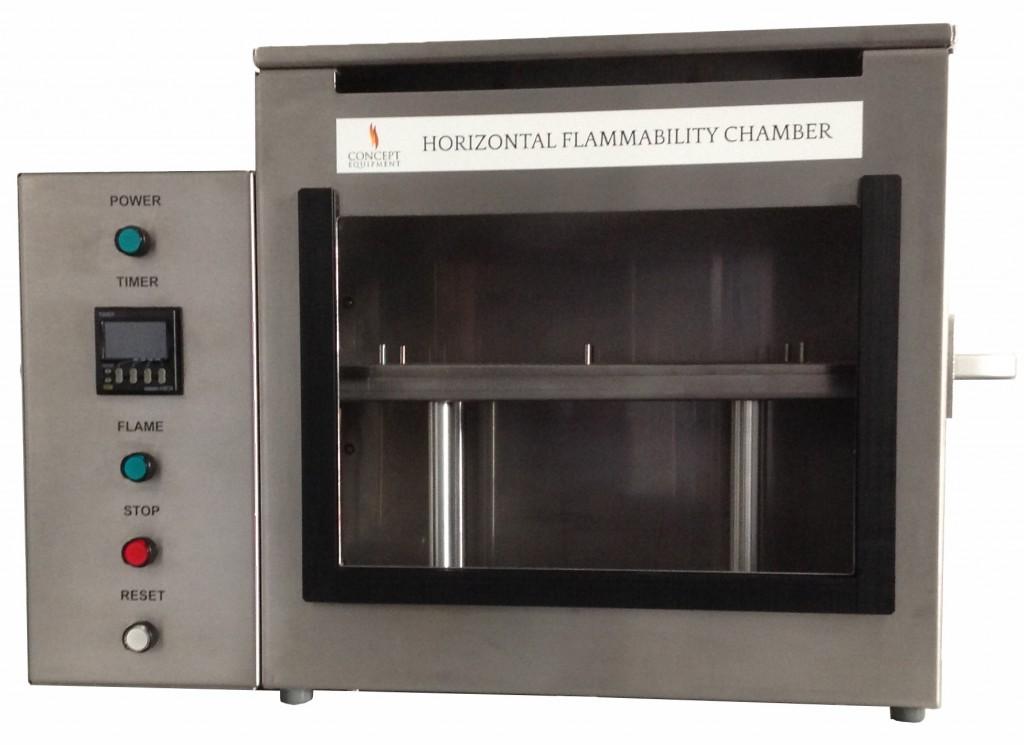 Horizontal Flammability Test Chamber Concept Equipment